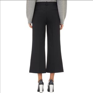 Theory Inza Piazza Wide Leg Cropped Pants